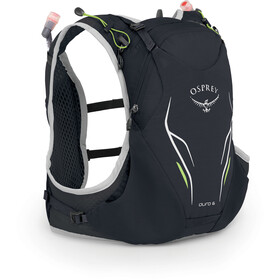 Osprey Duro 6 Drinkrugzak Heren, alpine black